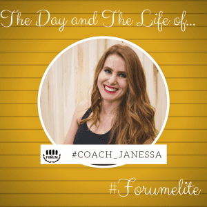 The Day And the Life Of #Coach_Janessa